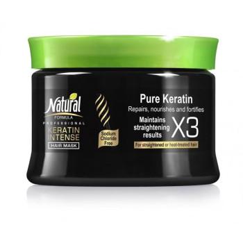 Masca de Par Formula Profesionala Natural Keratin Intense 350ml