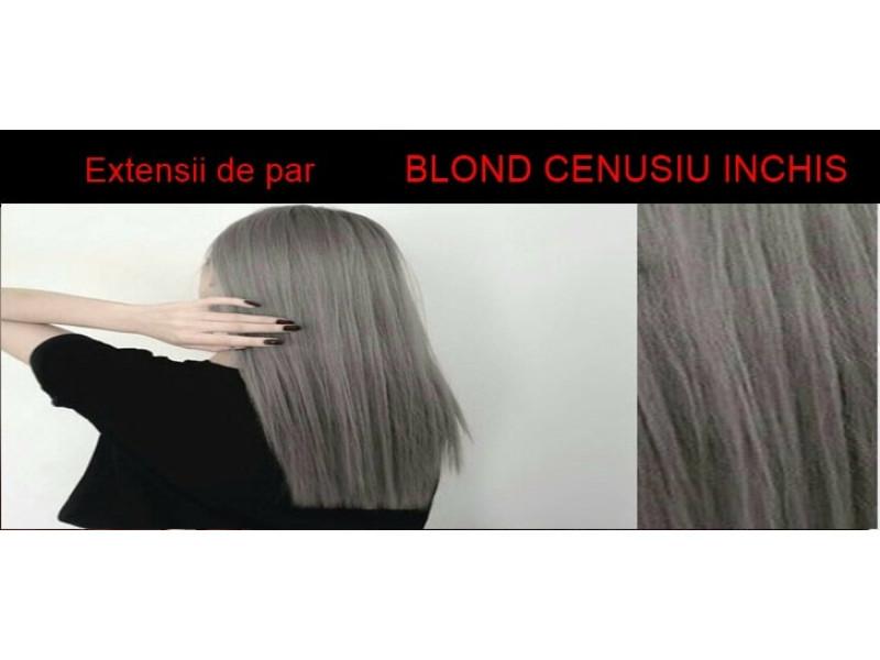 Coada De Par Cu Dubla Intrebuintare Blond Cenusiu Inchis