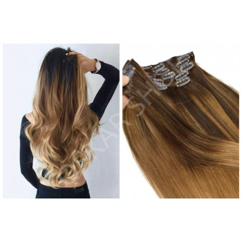 Clip On Premium Drept Black Collection Balayage #3 #24