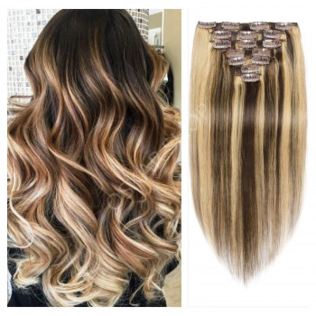 Set Easy Clip-On Balayage #4 #60