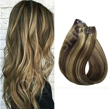 Clip On DeLuxe Ondulat Black Collection Balayage Suvitat #4 #613