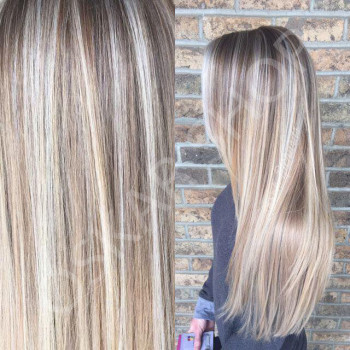 Set Easy Clip-On Balayage Suvitat #7 Light Grey