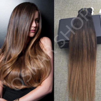 Clip On DeLuxe Ondulat Black Collection Ombre #2 #7