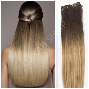Clip On Premium Drept Black Collection Ombre #6 18#