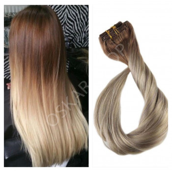 Clip On DeLuxe Ondulat Black Collection Ombre #6 #18
