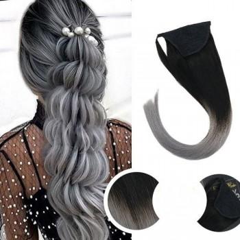Cozi de Par Black Collection Ombre #1B Grey