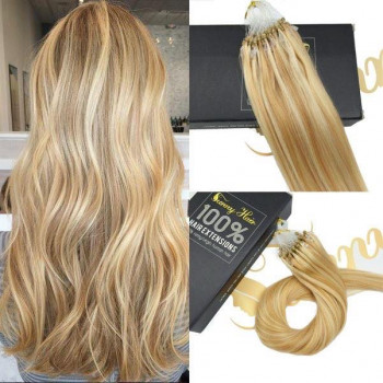 Extensii Microring Deluxe Balayage #24 #60