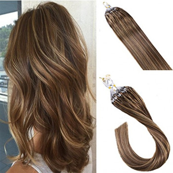 Extensii Microring Deluxe Balayage #4 #27