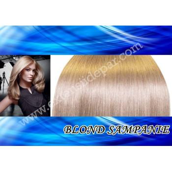 Mese de Volum cu Cordeluta DeLuxe Blond Sampanie