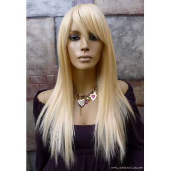Peruca din par natural golden blonde
