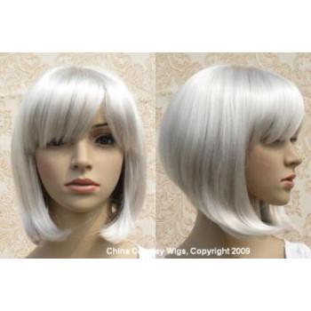 Peruca bobo blonde platinum