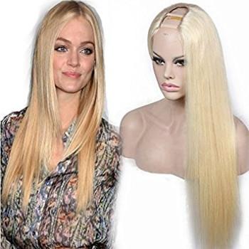 Semiperuca Par Natural U Part Blond Deschis Drept