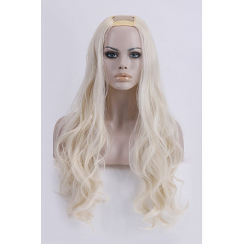 Semiperuca Par Natural U Part Blond Luminos Ondulat