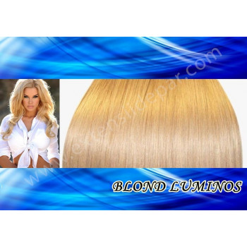 Extensii Front Lace (Semiperuca) DeLuxe Blond Luminos