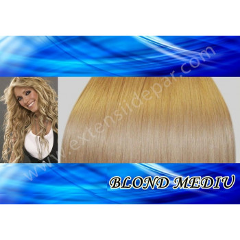 Extensii Front Lace (Semiperuca) DeLuxe Blond Mediu