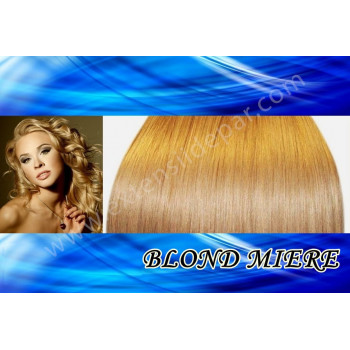 Extensii Front Lace (Semiperuca) DeLuxe Blond Miere
