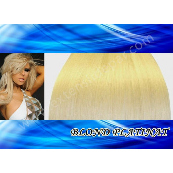 Extensii Front Lace (Semiperuca) DeLuxe Blond Platinat