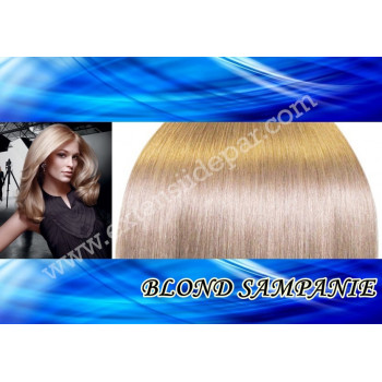 Extensii Front Lace (Semiperuca) DeLuxe Blond Sampanie