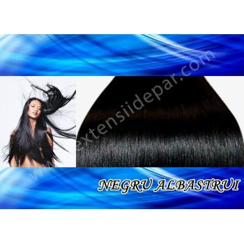 Top Lace Negru Albastrui