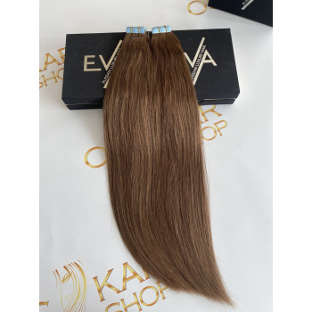 Extensii Tape-in Russian Hair Saten Natural #6