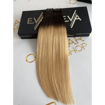 Extensii Tape-in Russian Hair Ombre #1B/#24