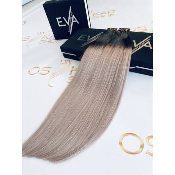 Extensii Tape-in Russian Hair Ombre #1B/Grey