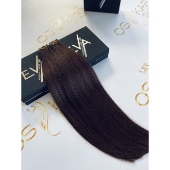 Extensii Tape-in Russian Hair Negru Natural #1B